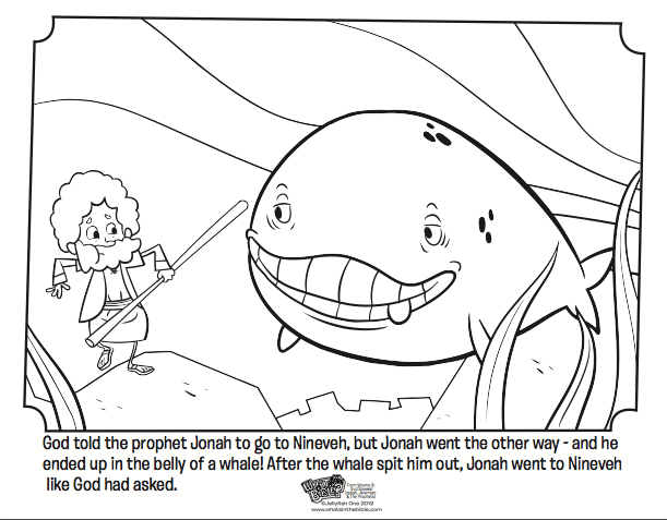 jonah and the whale bible coloring pages whats in the