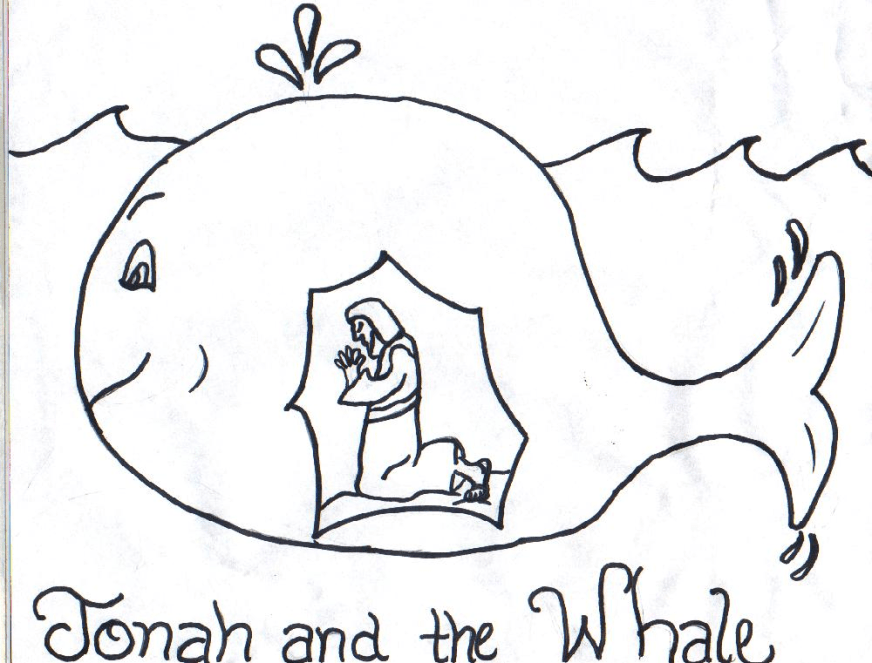 jonah coloring page free printable jonah and the whale