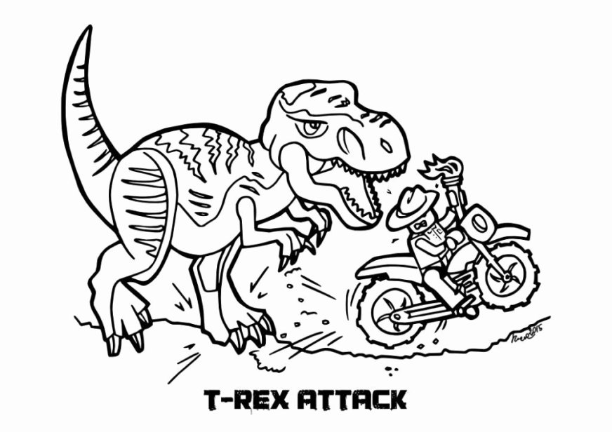 jurassic world coloring page new jurassic world coloring