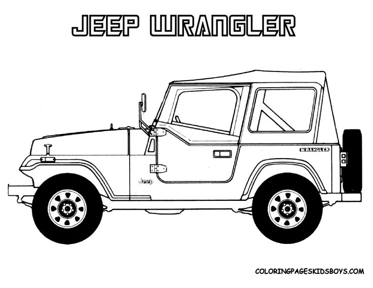 jurassic world jeep coloring pages