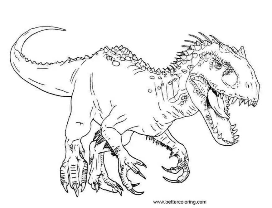 jurassic world tyrannosaurus rex coloring pages t rex vs