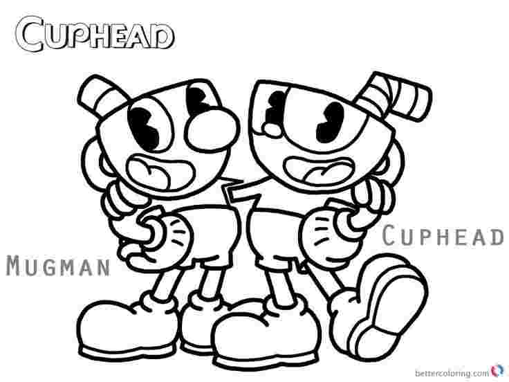 just coloring cup head coloring pages radioa