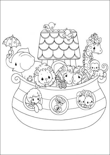 kids n fun 42 coloring pages of precious moments