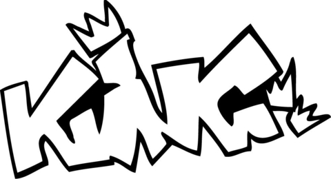 king graffiti coloring page free printable coloring pages
