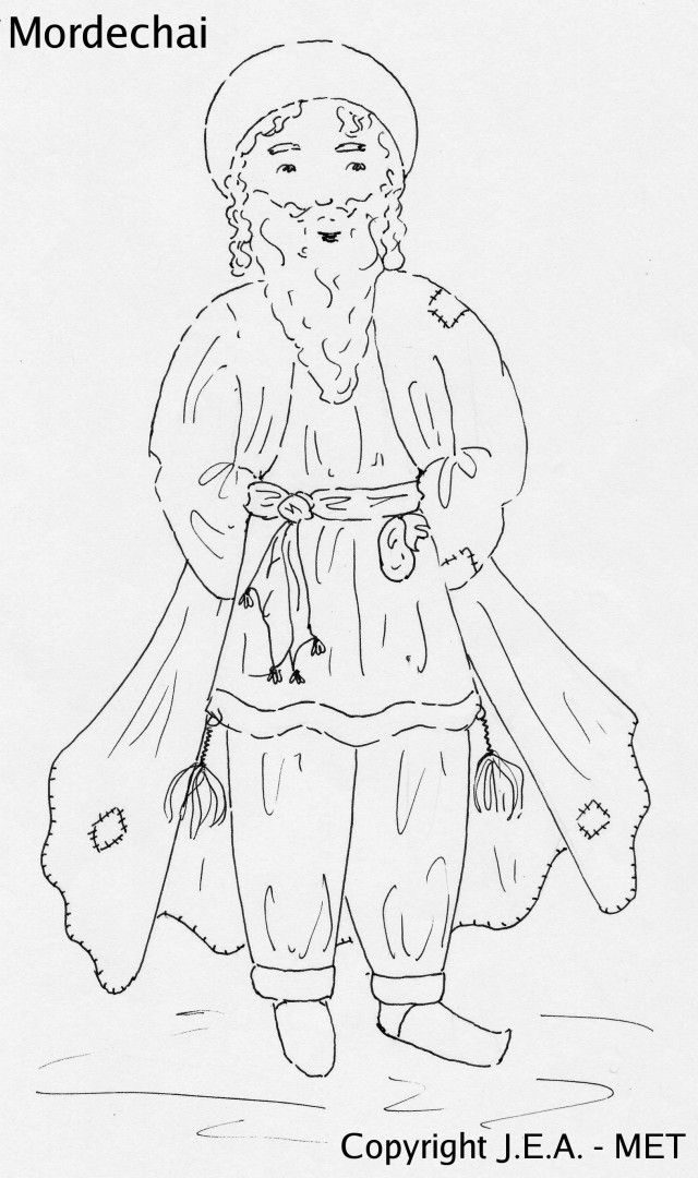 king xerxes colouring page purim coloring pages clip art