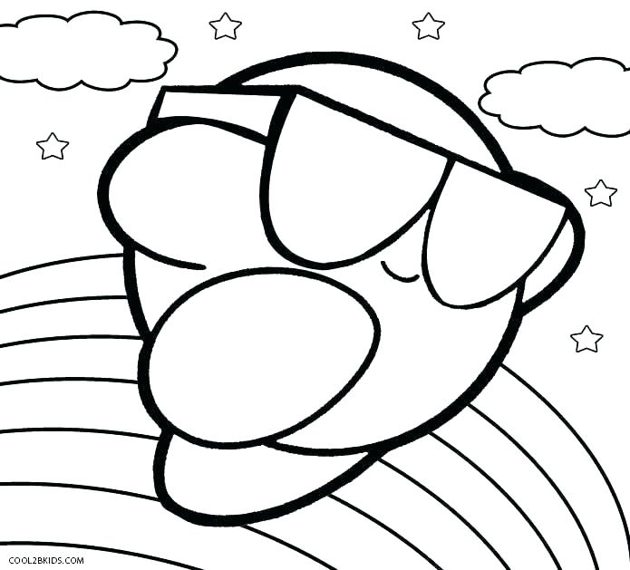 kir coloring pages meta knight free to print autosteklapro