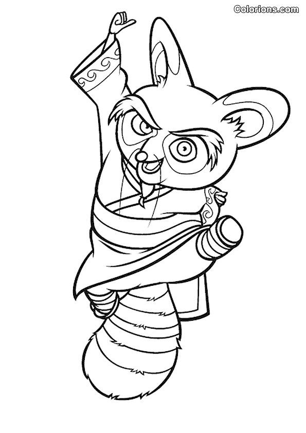 kung fu panda 135 animation movies printable coloring pages