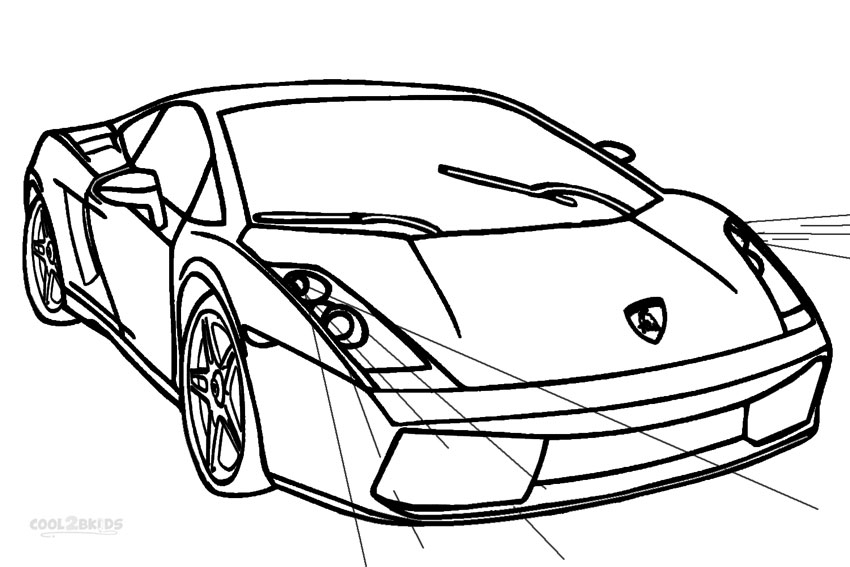 lamborghini cars coloring pages kaigobank