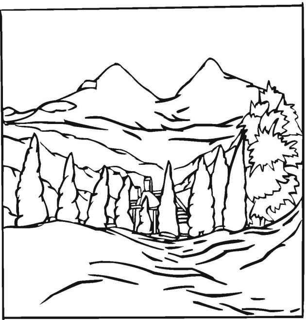 landscape coloring pages maybe start with these talk about