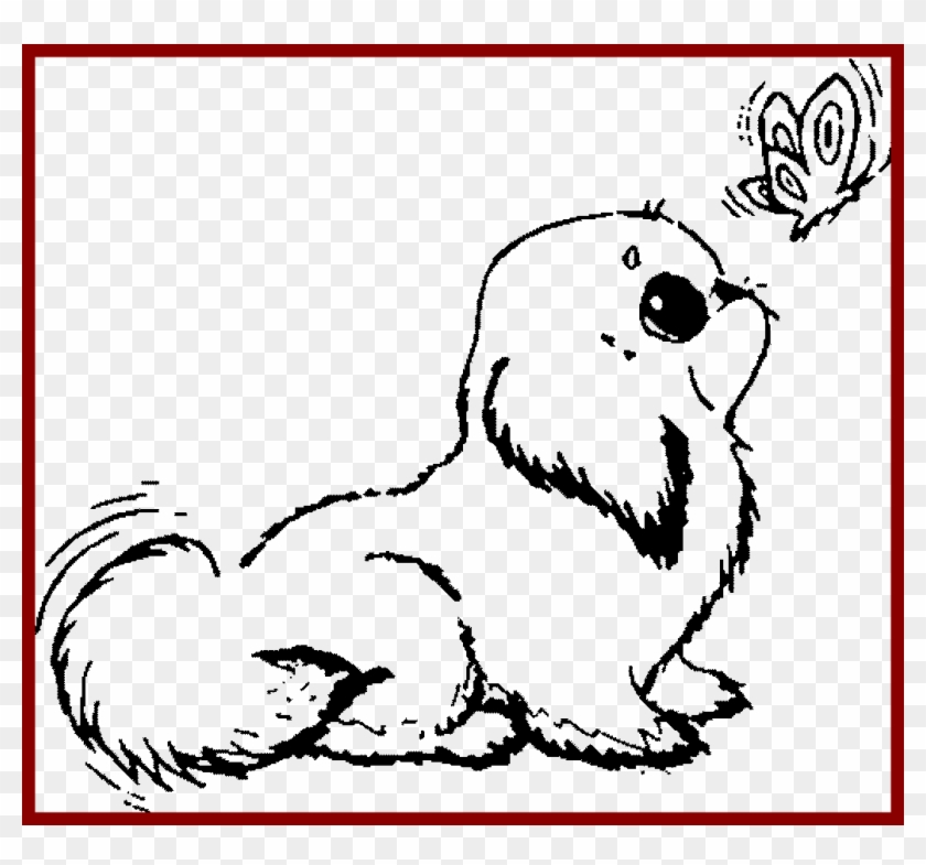 latest coloring pages of cute dogs excellent colouring