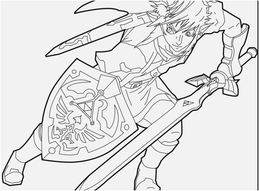 legend of zelda coloring pages image coloring page zelda