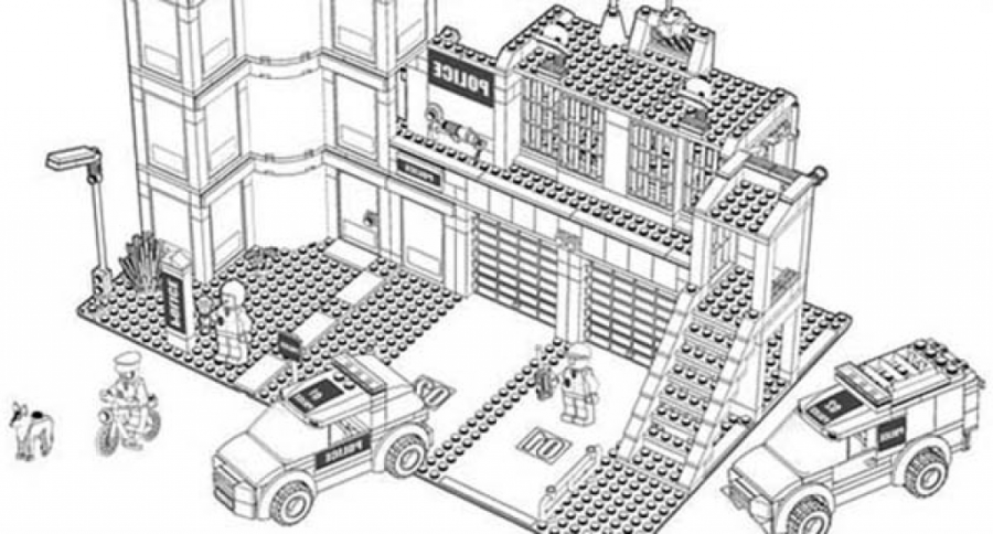 Download Coloring Pages Lego City Pictures Coloring Pages Online