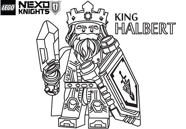 lego coloring pages nexo knights
