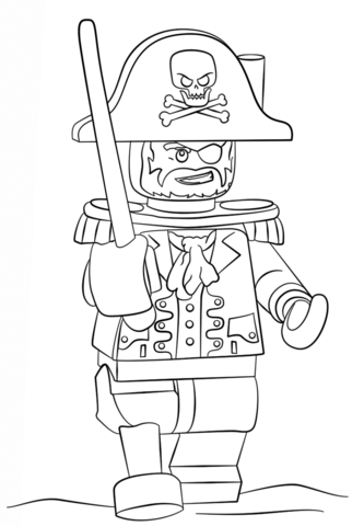 lego pirate coloring page free printable coloring pages