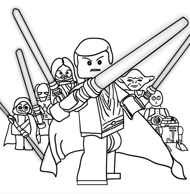 lego star wars coloring pages for kids free coloring on