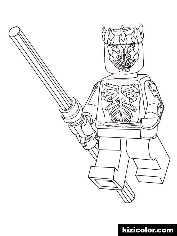 Lego Star Wars Coloring Pages Pictures