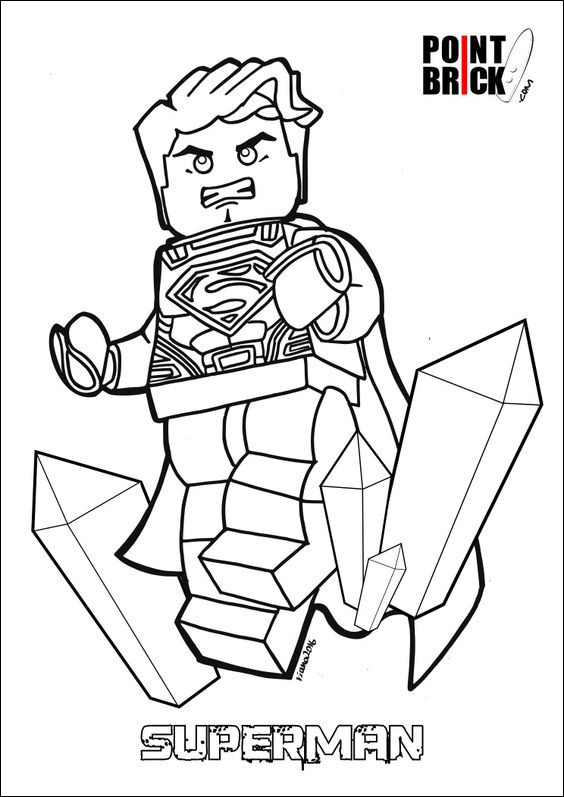 lego superman coloring page beautiful image disegni da