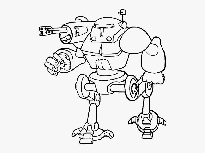 lemming robots coloring pages free coloring pictures robot