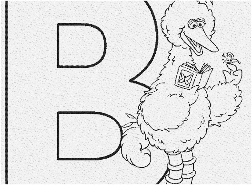 Letter B Coloring Pages Idea Whitesbelfast