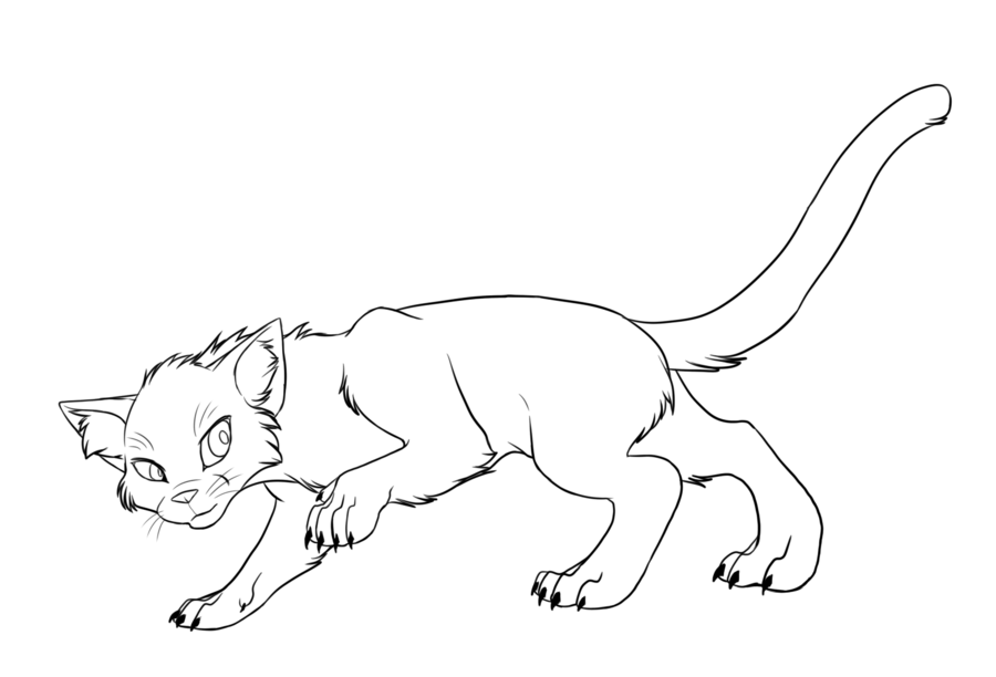 library of warrior cat png royalty free coloring png files