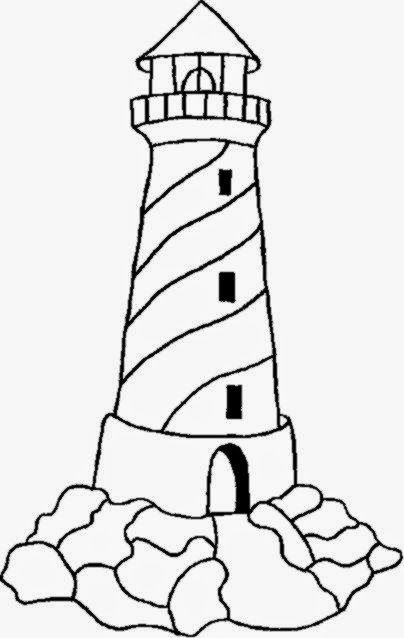 lighthouse coloring sheets free coloring sheet