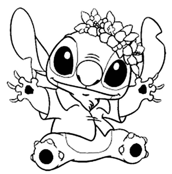 lilo and stitch coloring pages for christmas christmas