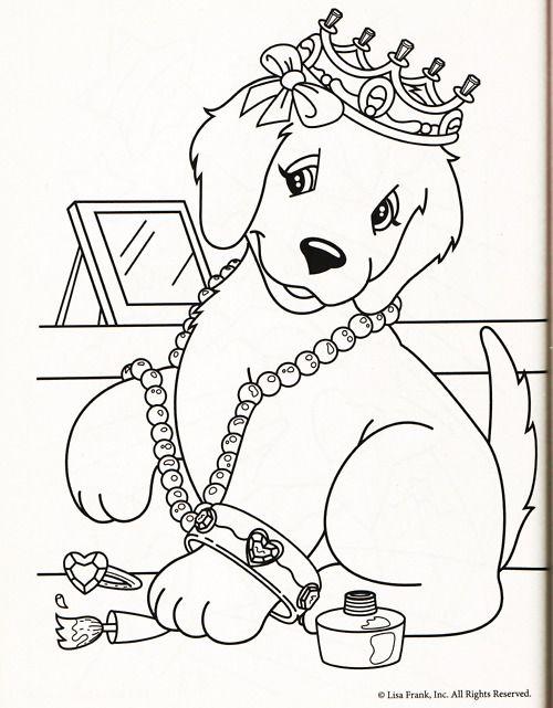 lisa frank coloring page taylor hampton too perfect of