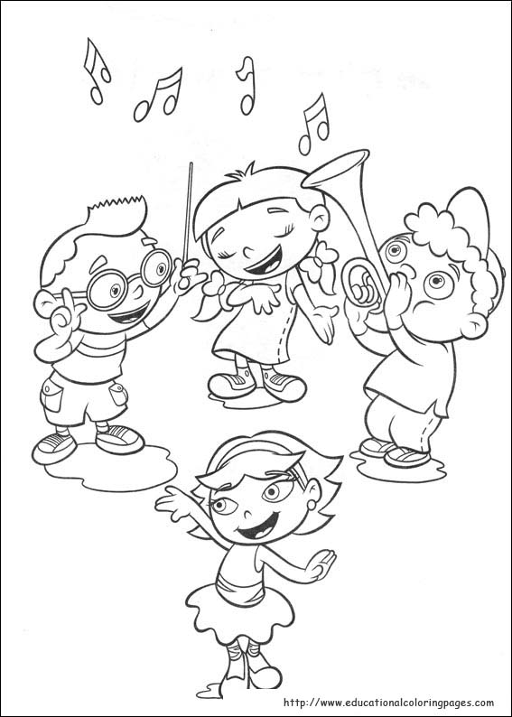 little einsteins 79 cartoons printable coloring pages