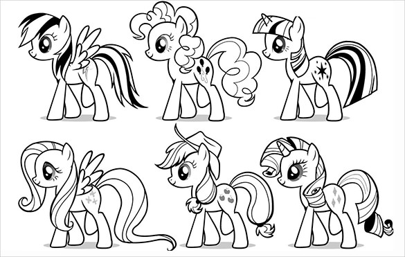 little pony coloring pages at getdrawings free for