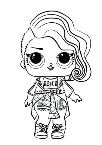 lol surprise dolls coloring pages free coloring pages