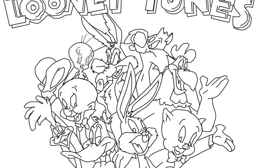 looney tunes coloring pages 360coloringpages