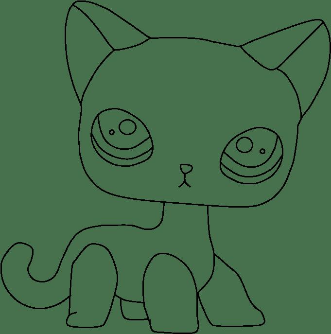 lps cat coloring pages transparent cartoon jingfm