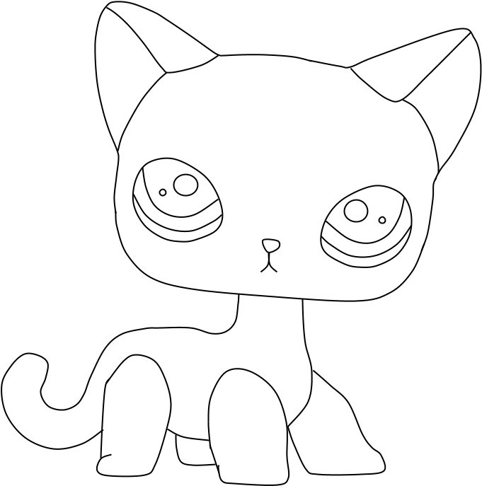 lps cat coloring pages transparent cartoon jingfm
