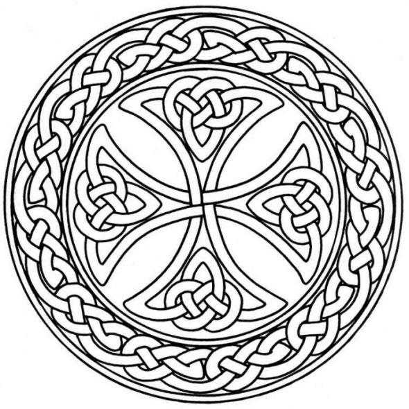 mandala monday free celtic mandalas to color celtic