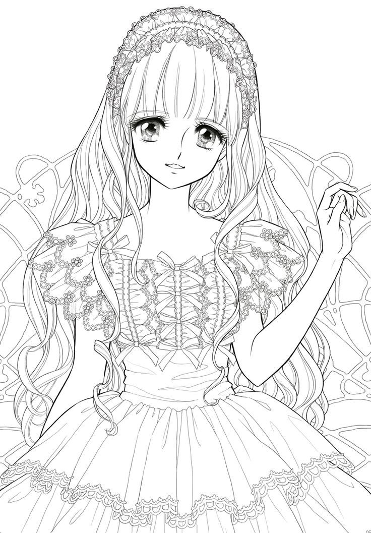 manga coloring pages cute malvorlagen fr mdchen