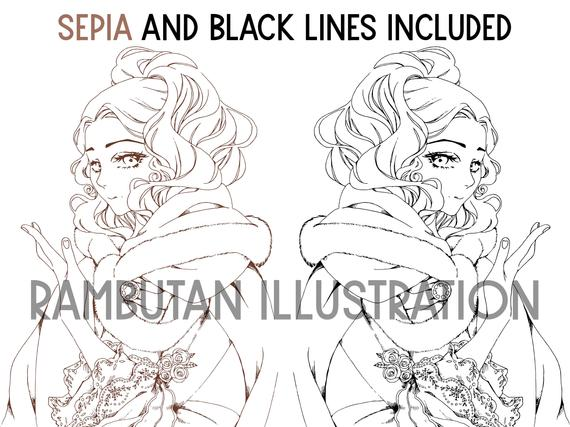 manga coloring pages printable coloring sheets