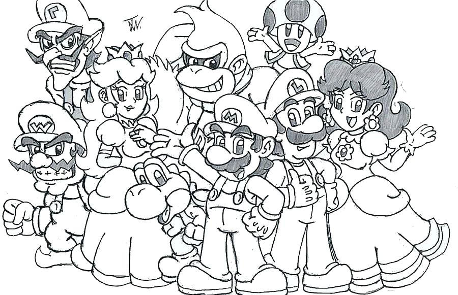 mario odyssey coloring pages at getdrawings free for
