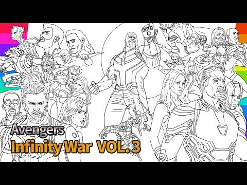 marvel avengers infinity war how to draw super hero