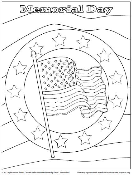 memorial day coloring page malvorlagen fr kinder kinder