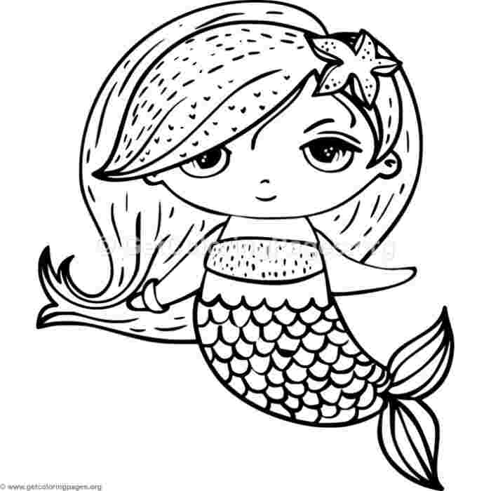 mermaid coloring pages cute cute free mermaid coloring pages