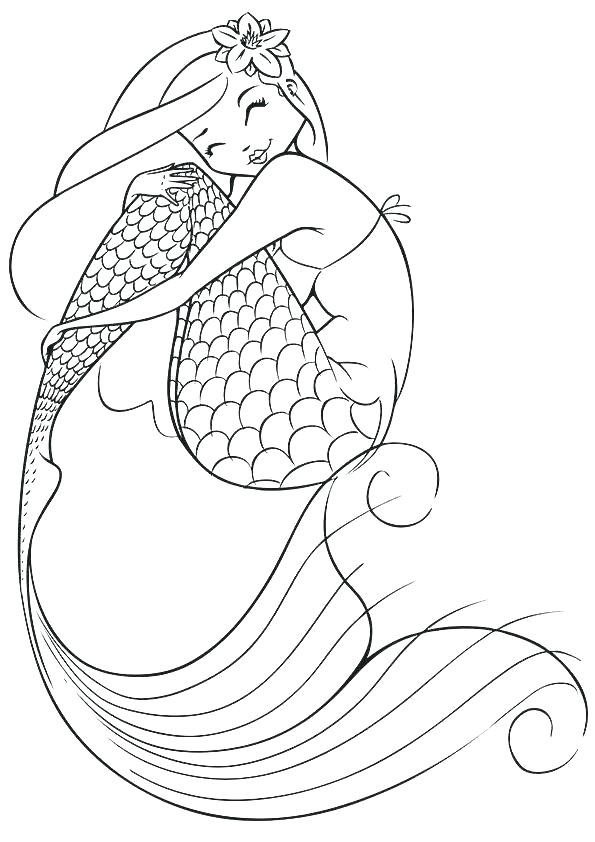 mermaid coloring pages for adults uwcoalition