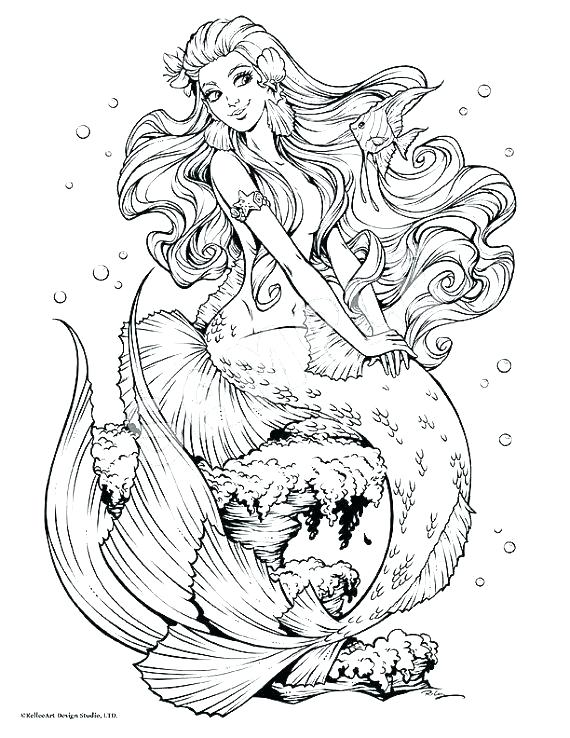 mermaid coloring pages printable free tesopro