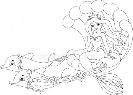 mermaids to colour stock pictures royalty free mermaid