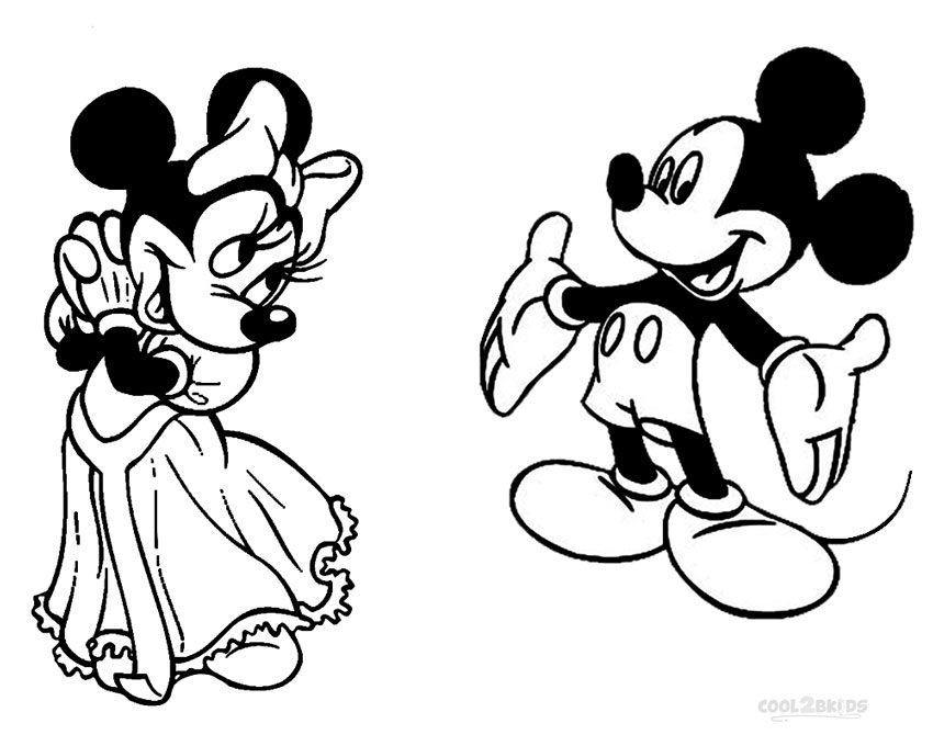 mickey and minnie mouse birthday coloring pages mickey mouse