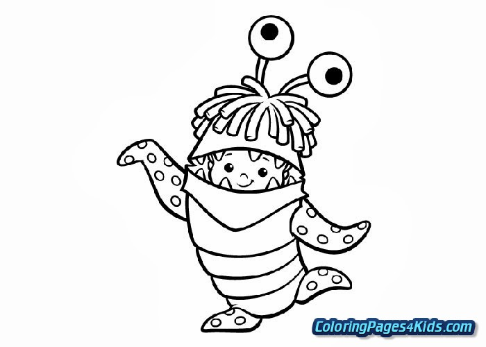 monsters inc coloring pages free free printable coloring pages