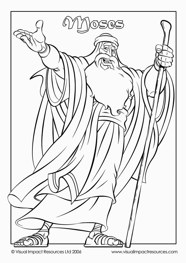 moses coloring pagesgood moses page could be colored cut