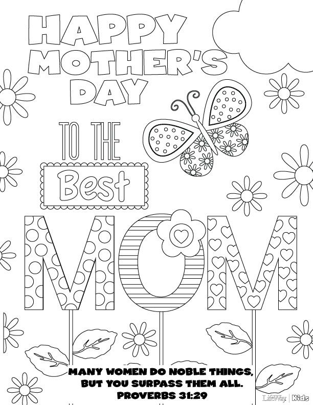mothers day coloring pages mothers day colors mothers