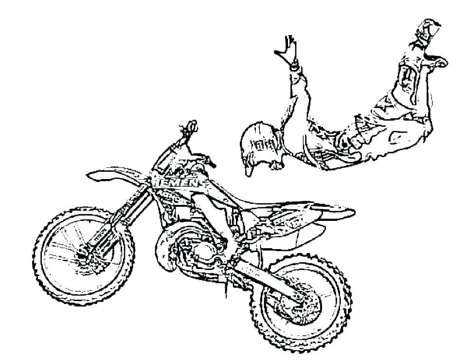 - Dirt Bike Coloring Pages Idea - Whitesbelfast