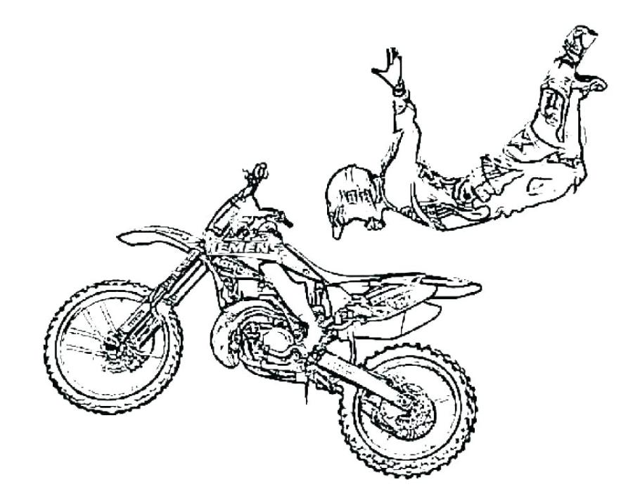 motorcycle colouring pictures to print pusat hobi