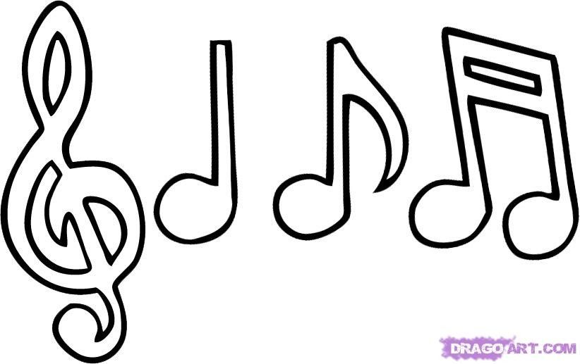 musical notes coloring pages printable coloring pages